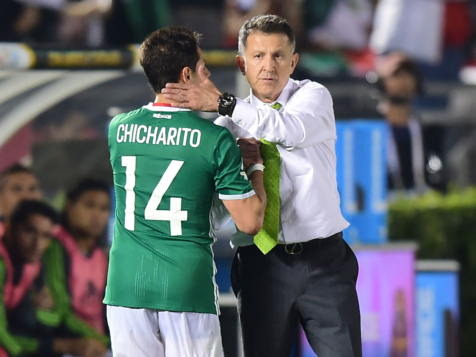 Chicharito and Juan Carlos Osorio lead Mexico at the World Cup