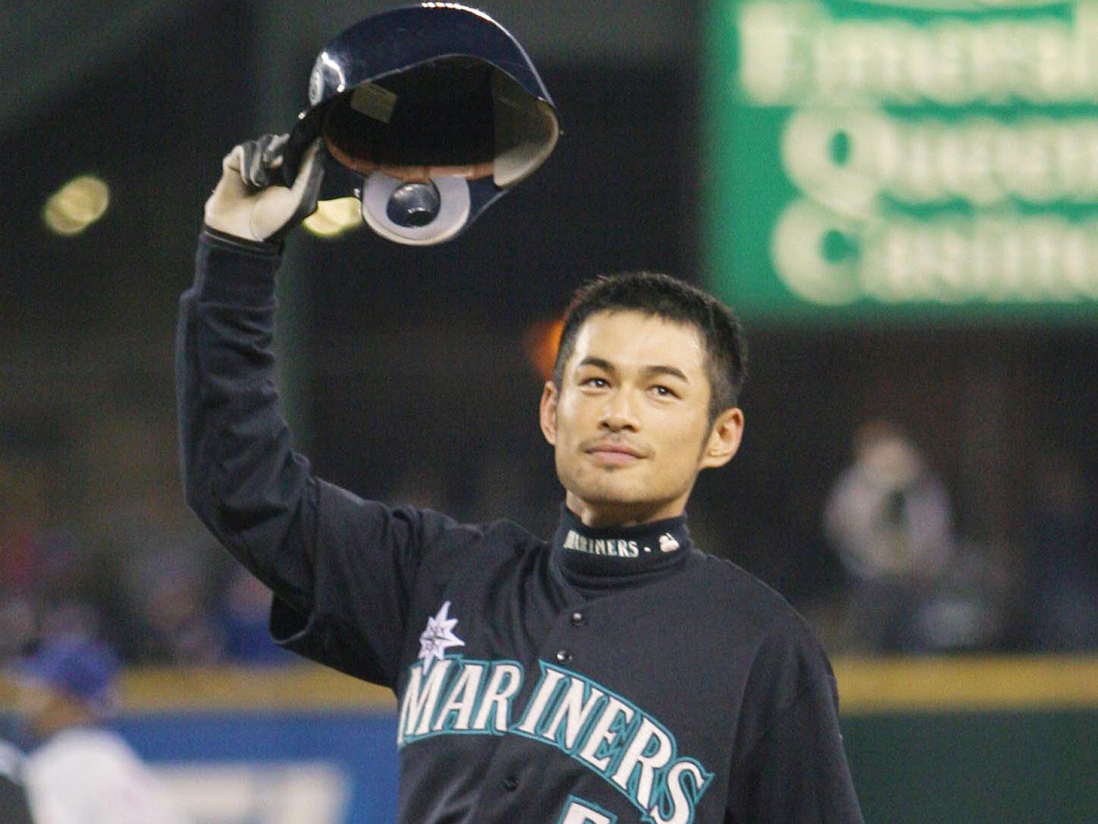 Seattle Mariners Ichiro Suzuki