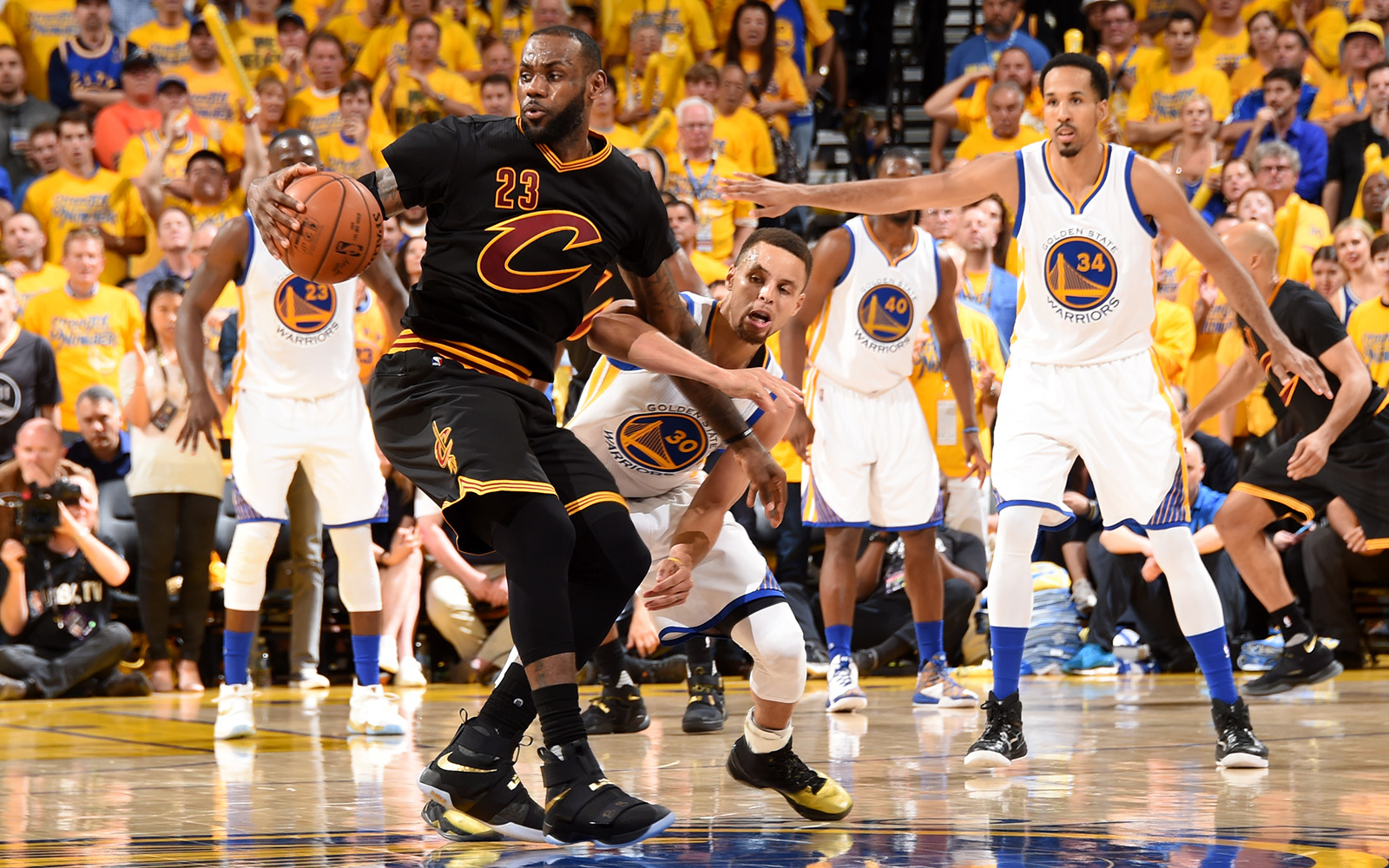 LeBron James vs. Warriors