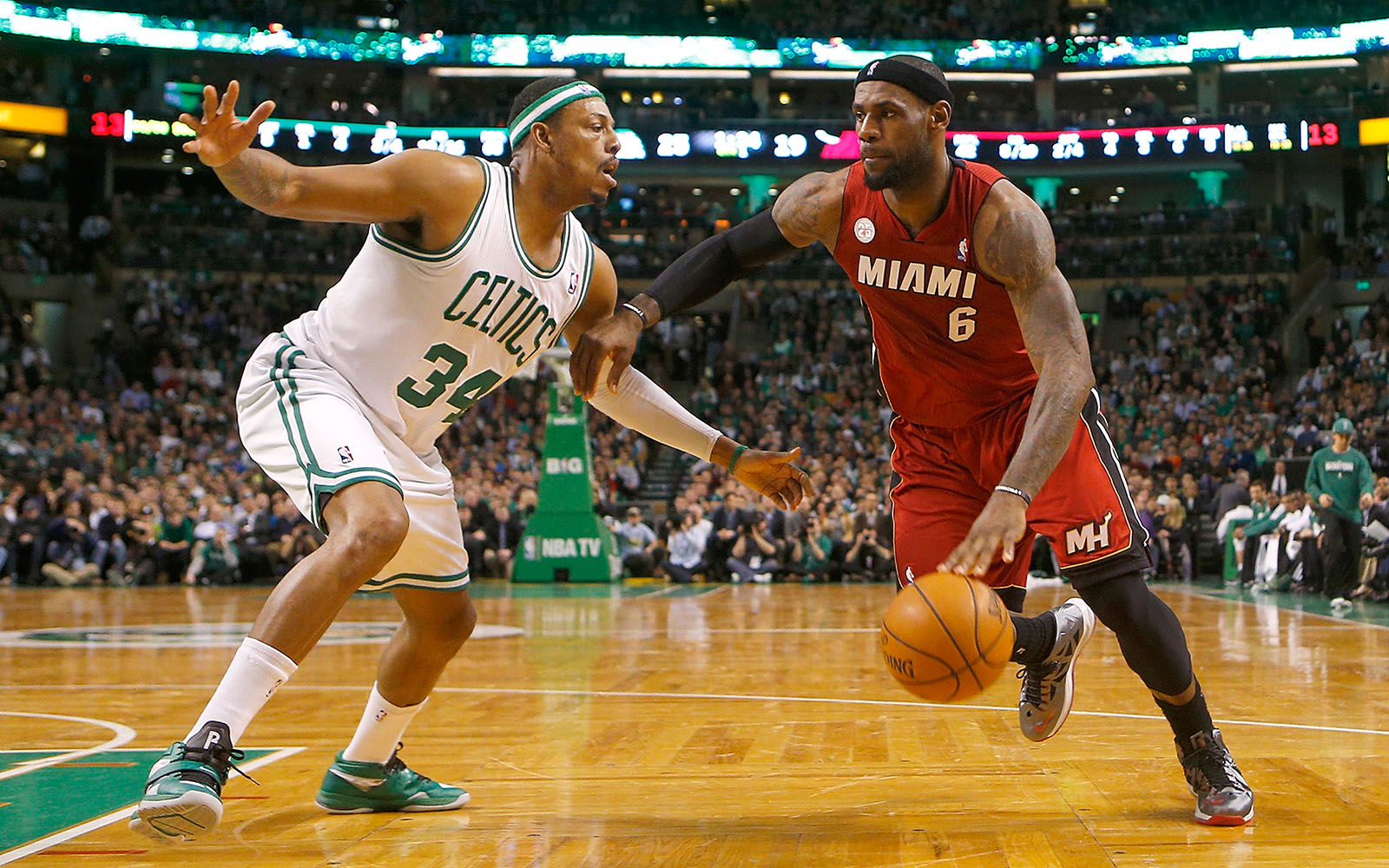 Paul Pierce vs. LeBron James