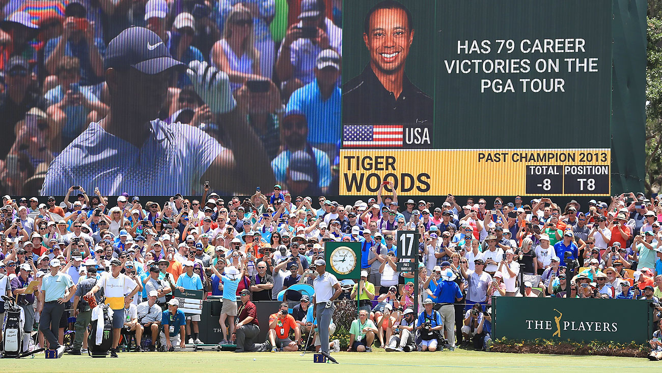 Tiger Woods, Saturday, 2018 Players
