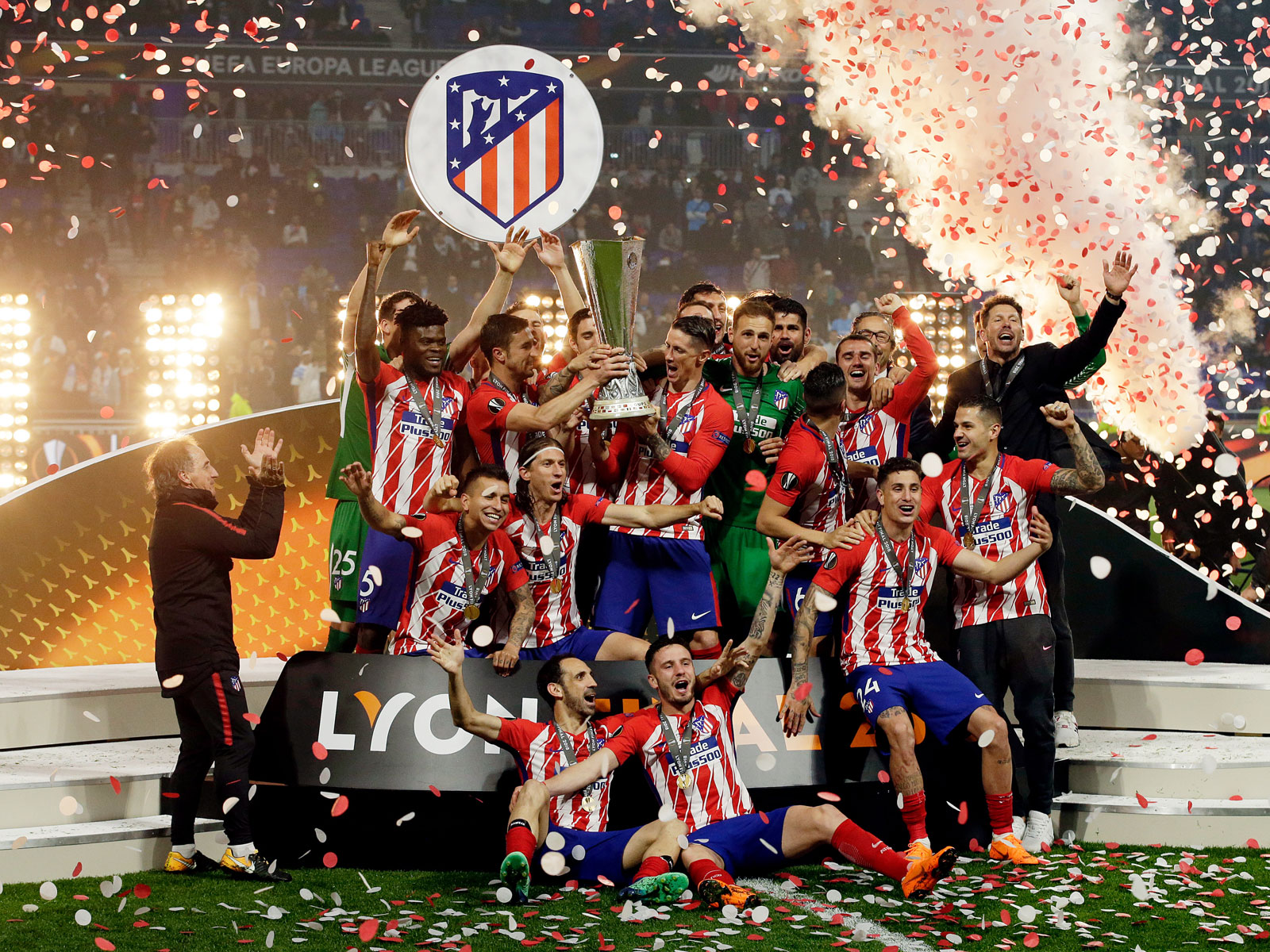 Atletico Madrid wins the Europa League title