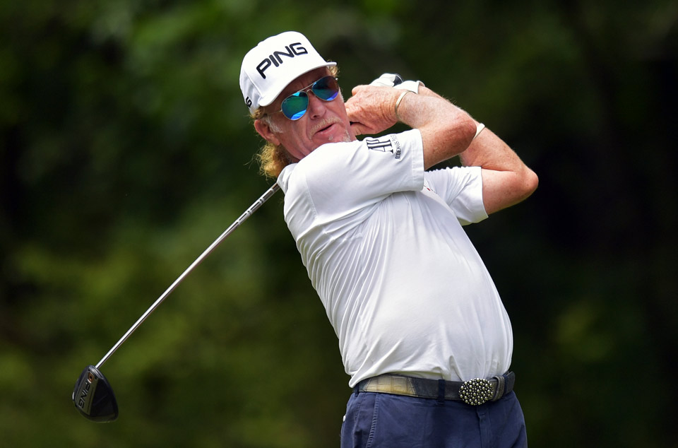 Miguel Angel Jimenez is seeking his fifth career PGA Tour champions victory.