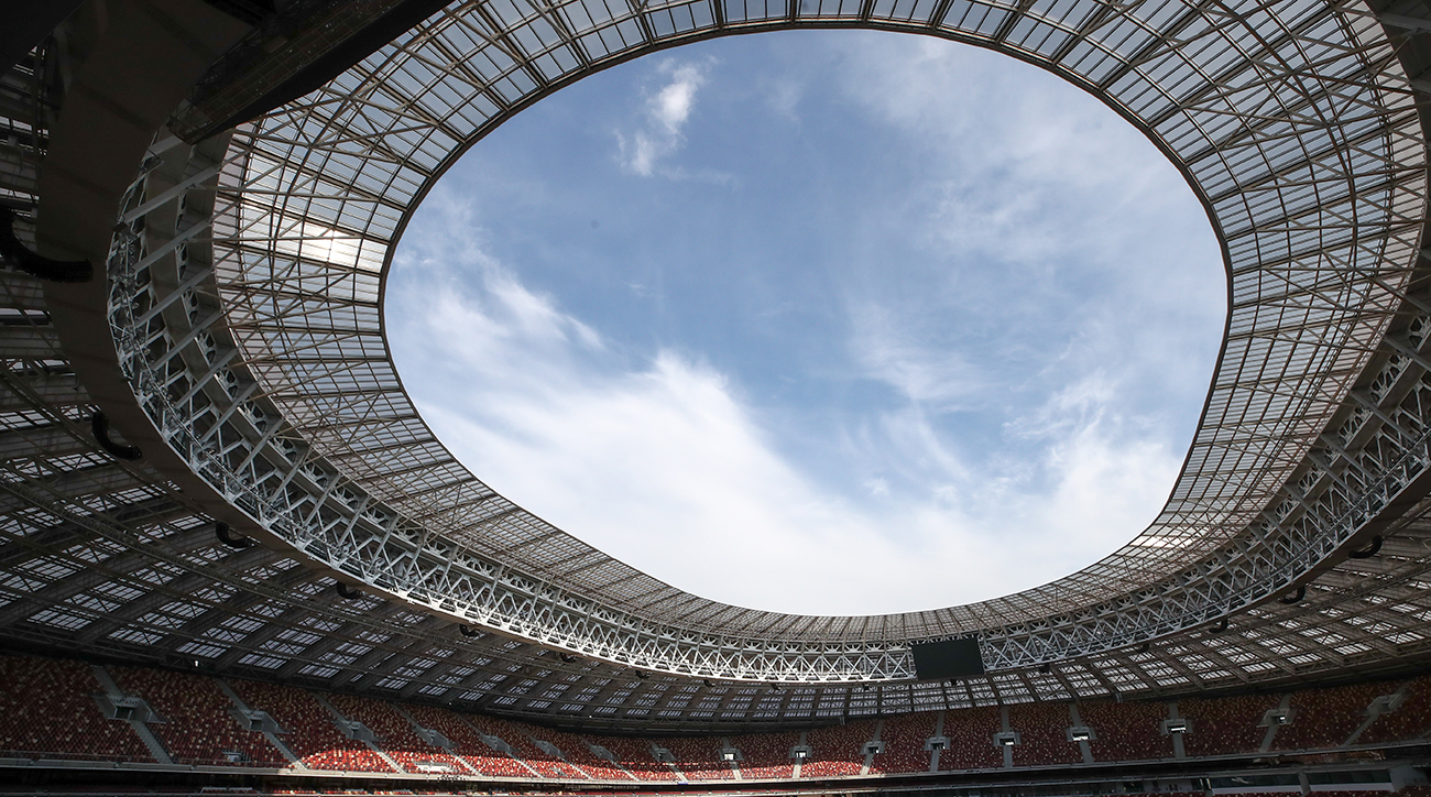 Assessing Luzhniki Stadium disability access ahead of 2018 FIFA World Cup
