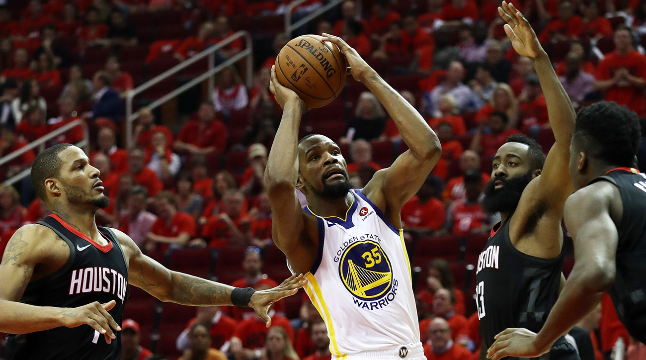 Golden State Warriors v Houston Rockets - Game Two