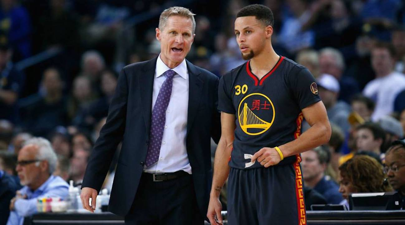 Steve Kerr on Stephen Curry: 'If You Shimmy When You're 1-11, That's Confidence' | Sports Illustrated