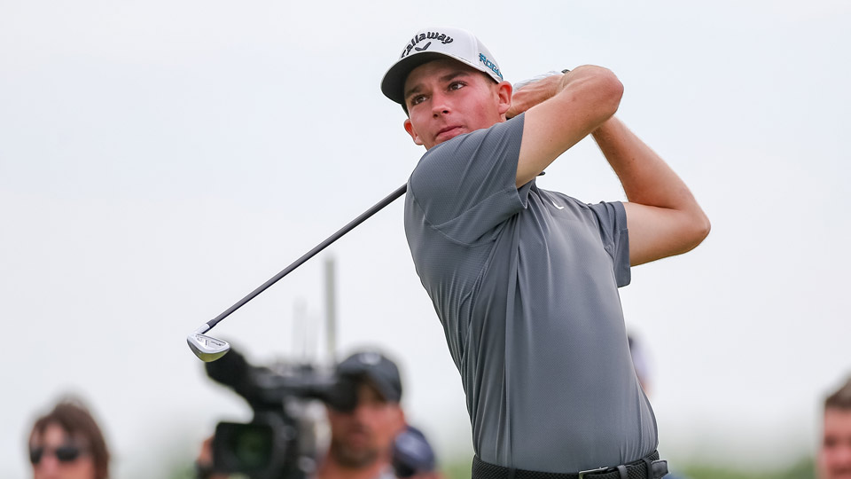 Aaron Wise won his first PGA Tour event at the 2018 AT&T Byron Nelson.