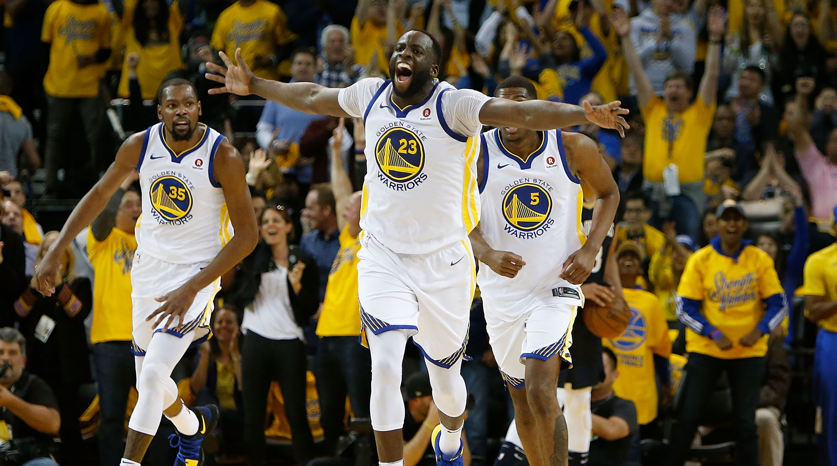 Draymond Green Still Lives at the Heart of Everything Golden State | Sports Illustrated