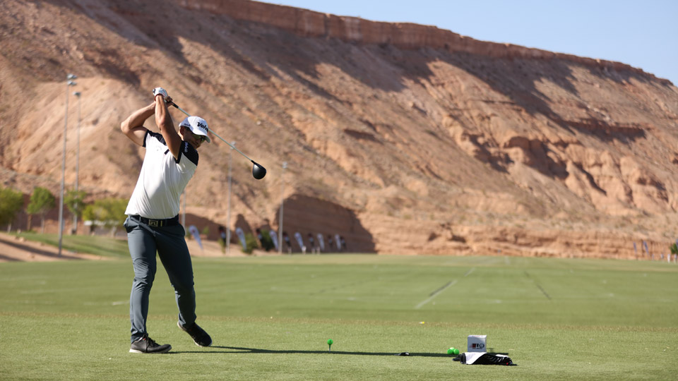 Justin James is the current Long Drive World No. 1.