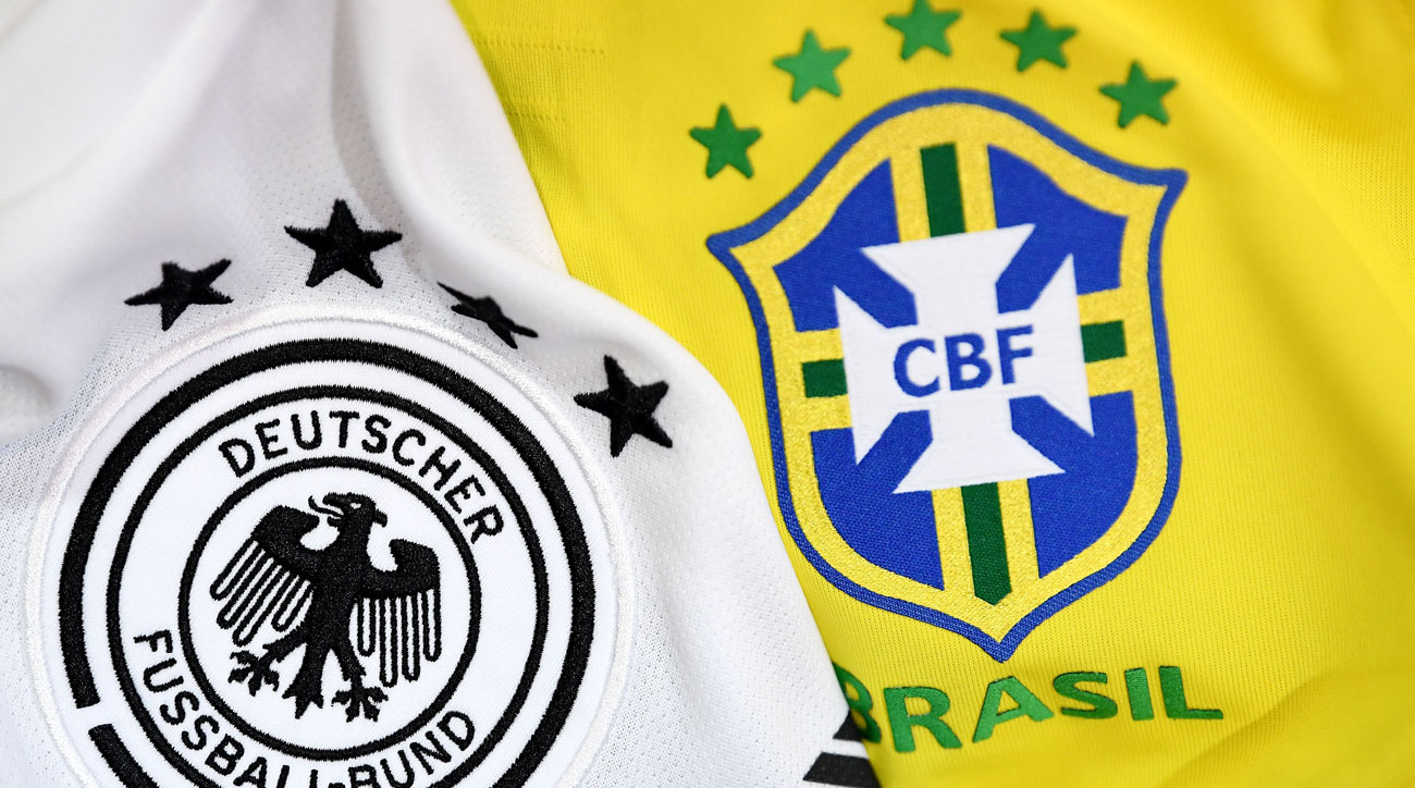 Germany and Brazil are the odds-on favorites to win the 2018 World Cup