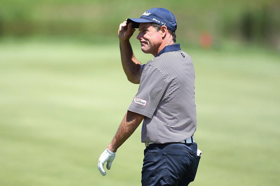 Stuart Smith is playing his fourth Senior PGA Championship.