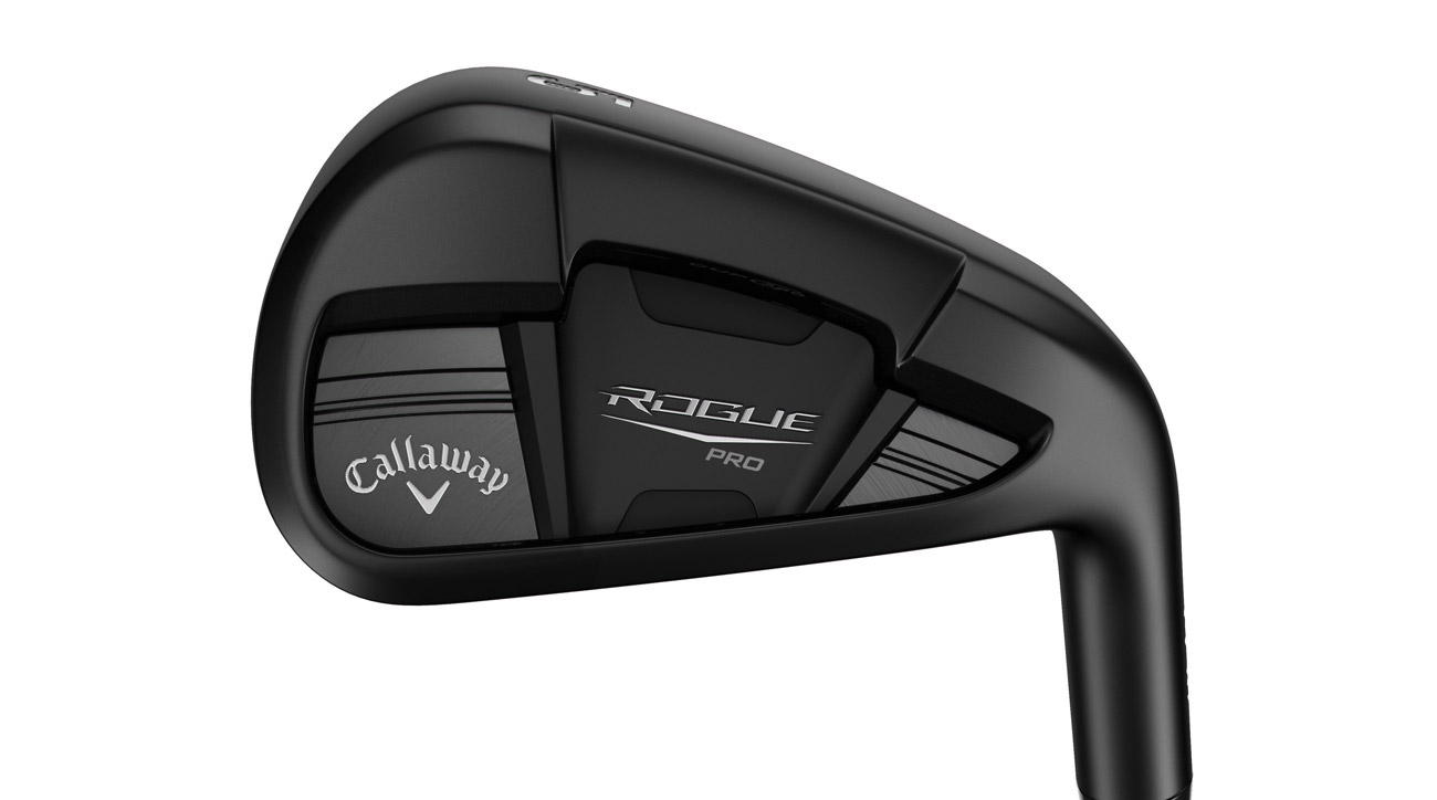 The new Callaway Rouge Pro Black iron