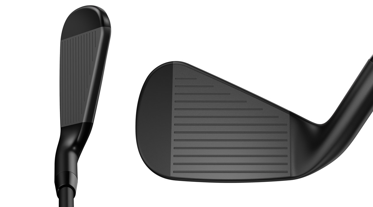 Callaway Rouge Pro Black iron at address