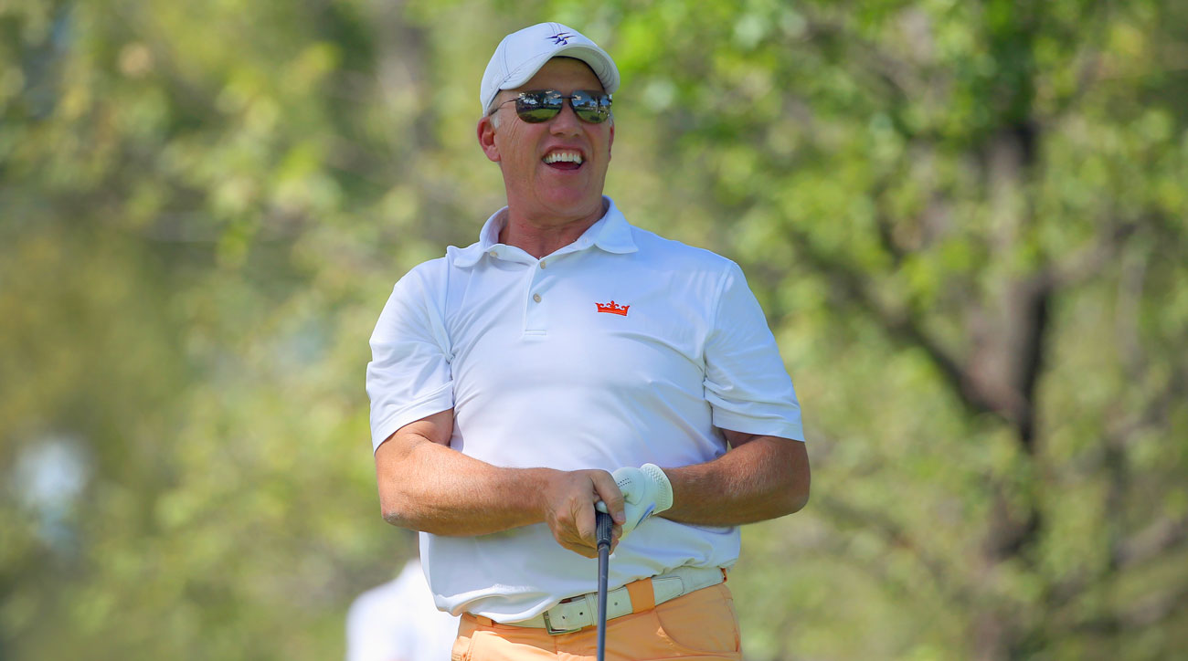 John Elway during pro-am ahead of the 2014 BMW Championship at the Cherry Hills