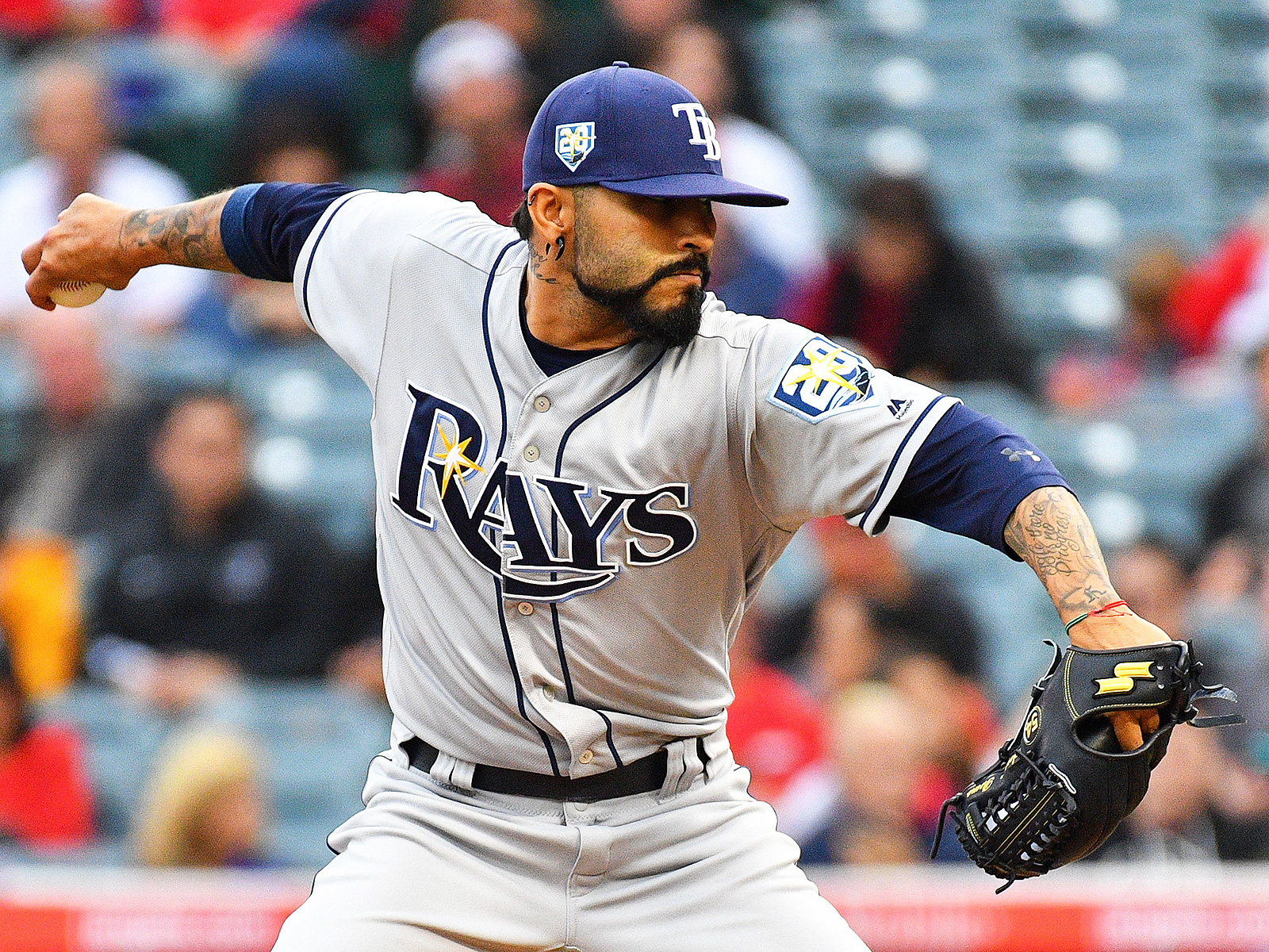 Tampa Bay Rays Sergio Romo