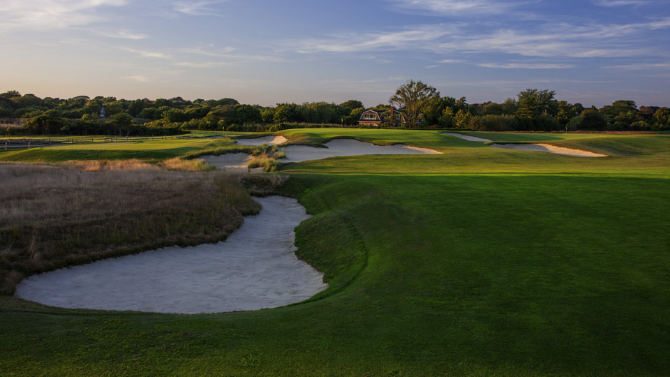 The opening hole at the Maidstone Club.
