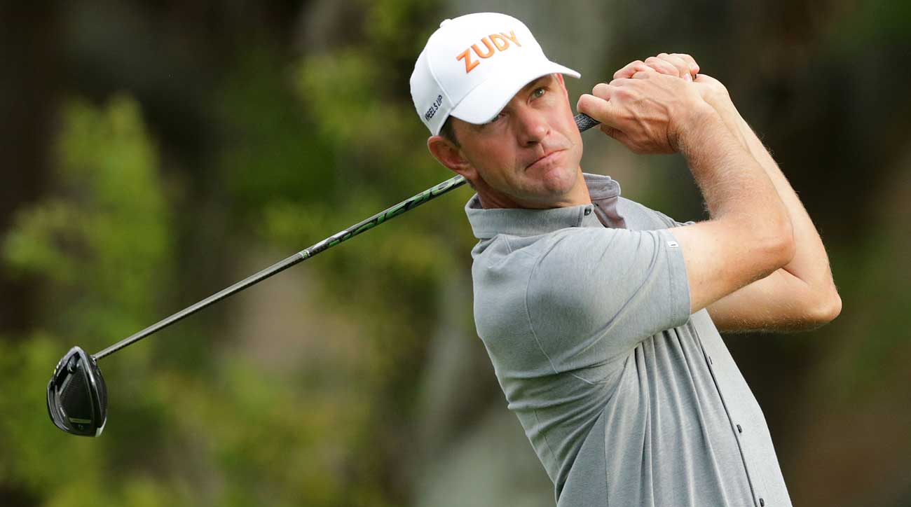 Glover's focus was on the golf after his first round at the Memorial.