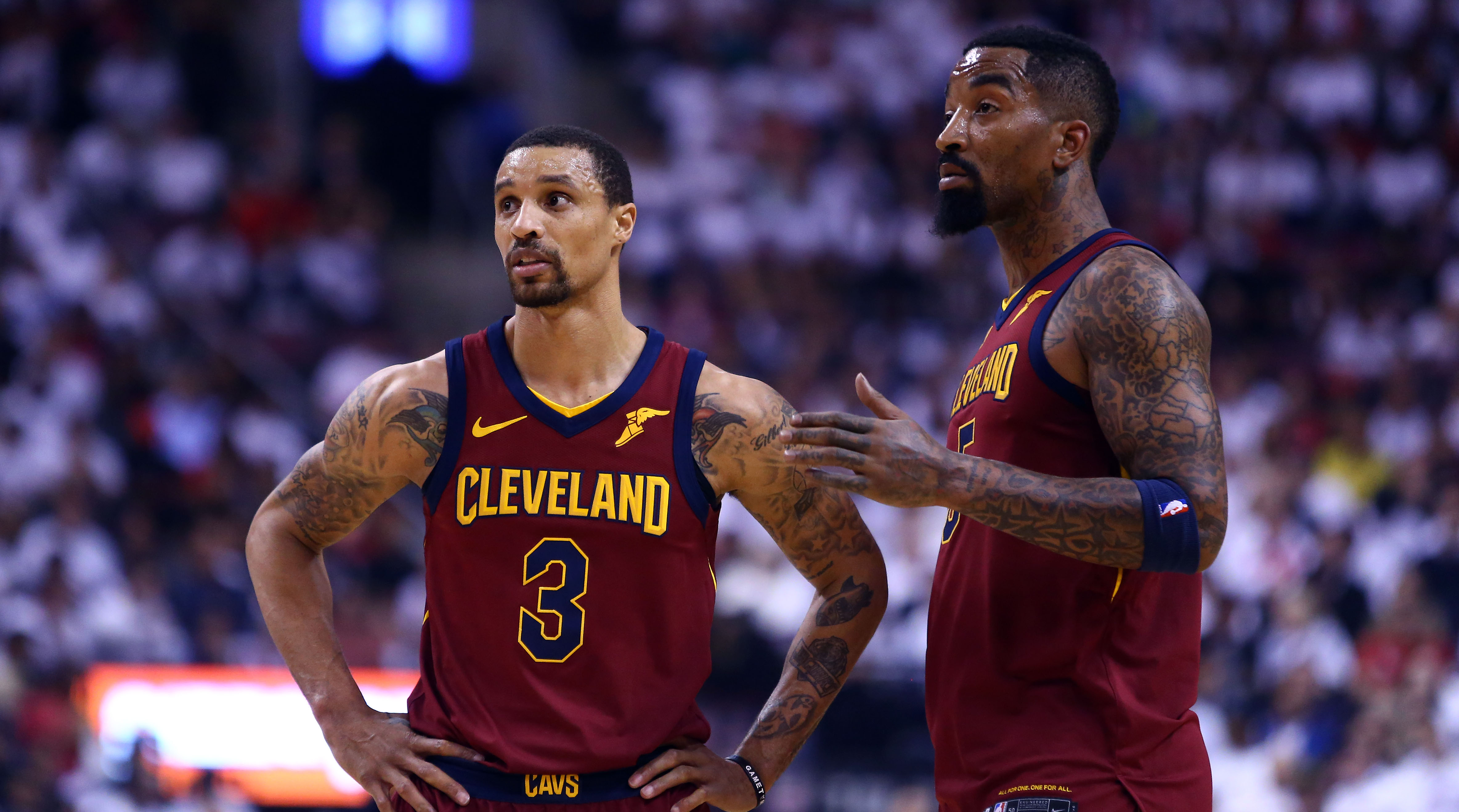 JR Smith vs George Hill  Which Cavs Player Deserves More Blame   2ae2b7853