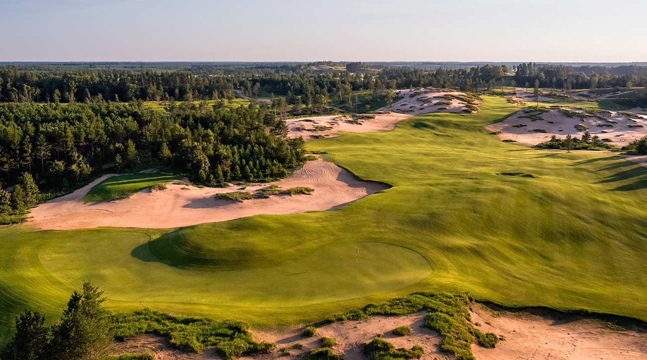 Mammoth Dunes golf course at Sand Valley