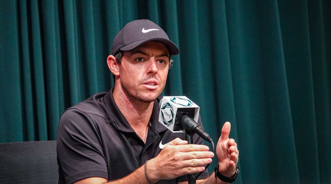 When asked about U.S. Open setups, McIlroy had plenty of thoughts at the ready.