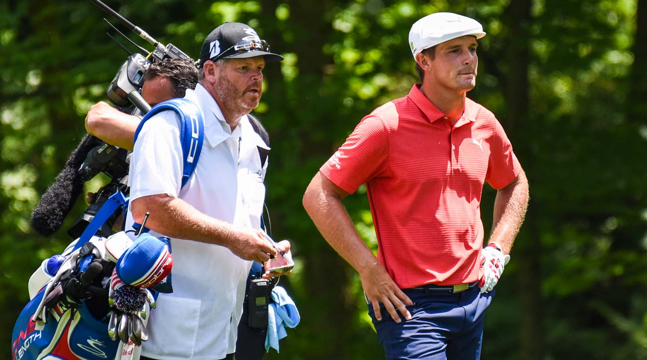 Bryson DeChambeau during final round of the Memorial