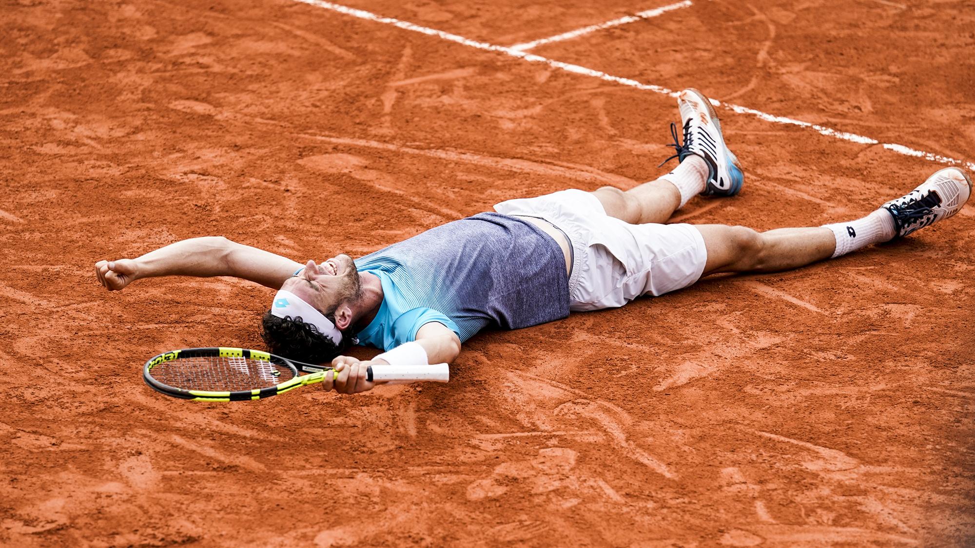 Marco Cecchinato Novak Djokovic French Open Roland Garros