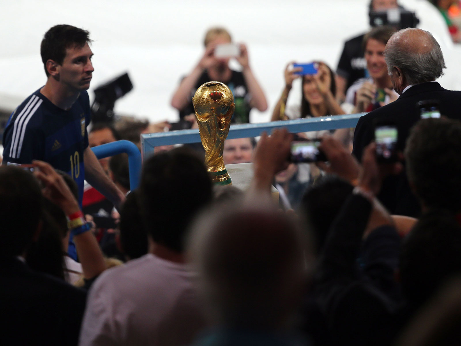 Lionel Messi came close to winning the 2014 World Cup with Argentina
