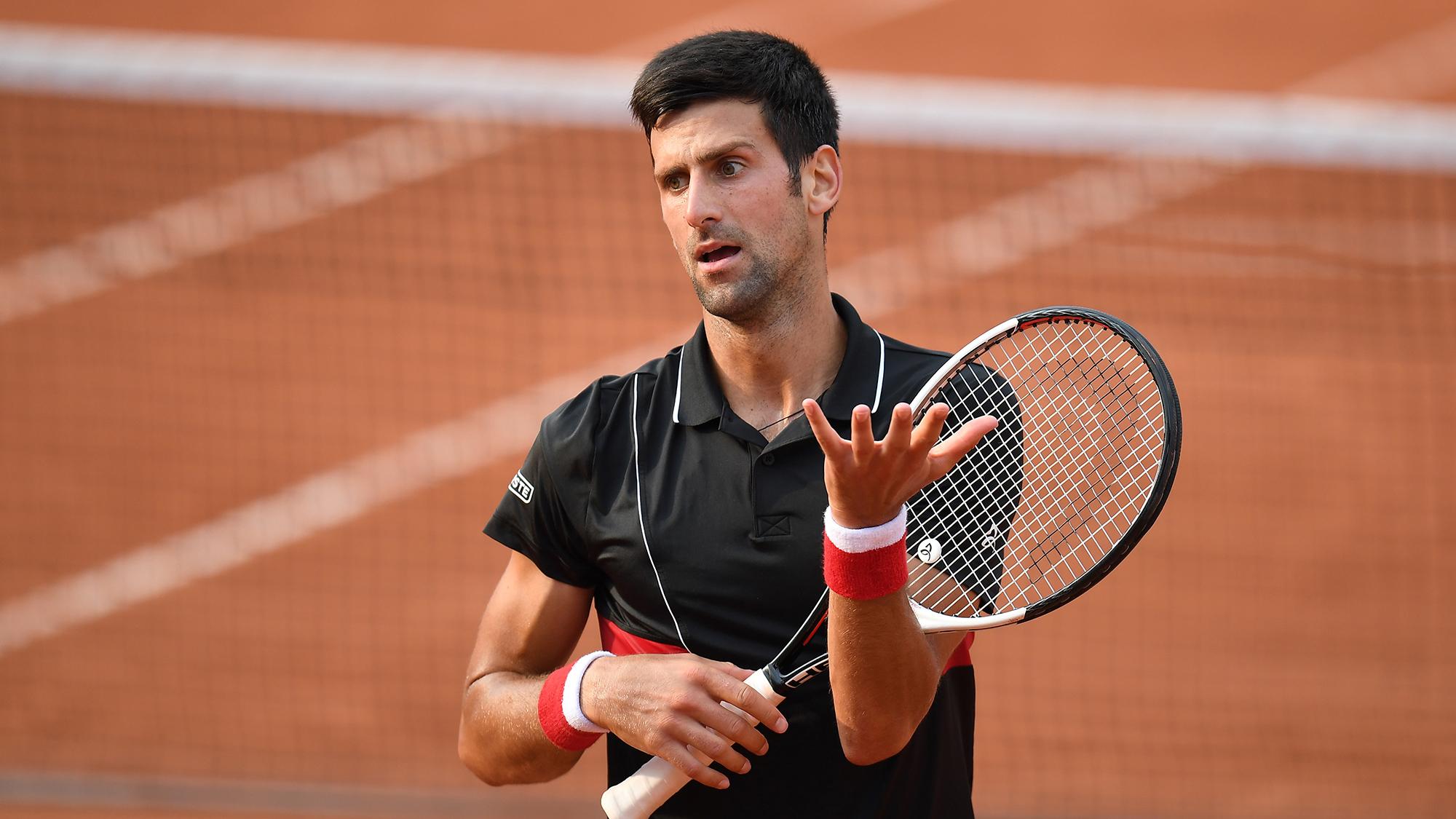 Novak Djokovic French Open Roland Garros