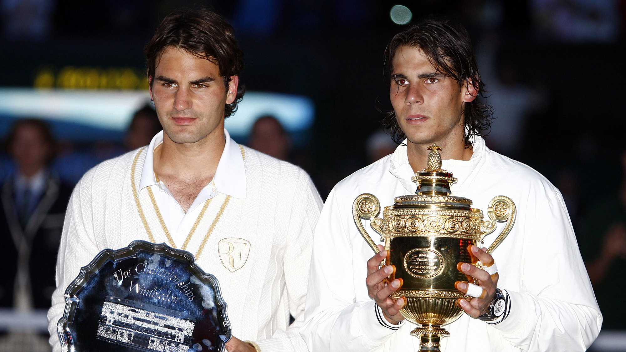 Roger Federer Rafael nadal Strokes of Genius Wimbledon 2008