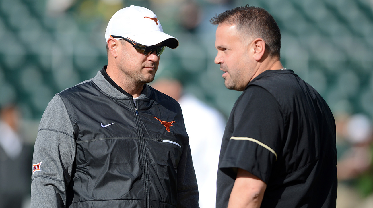 Tom Herman, Matt Rhule set for improvement in year two at Texas, Baylor