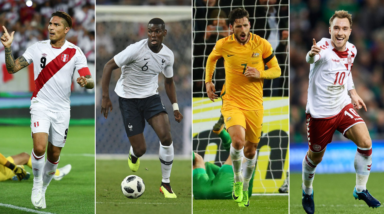 France, Peru, Australia and Denmark play in World Cup Group C