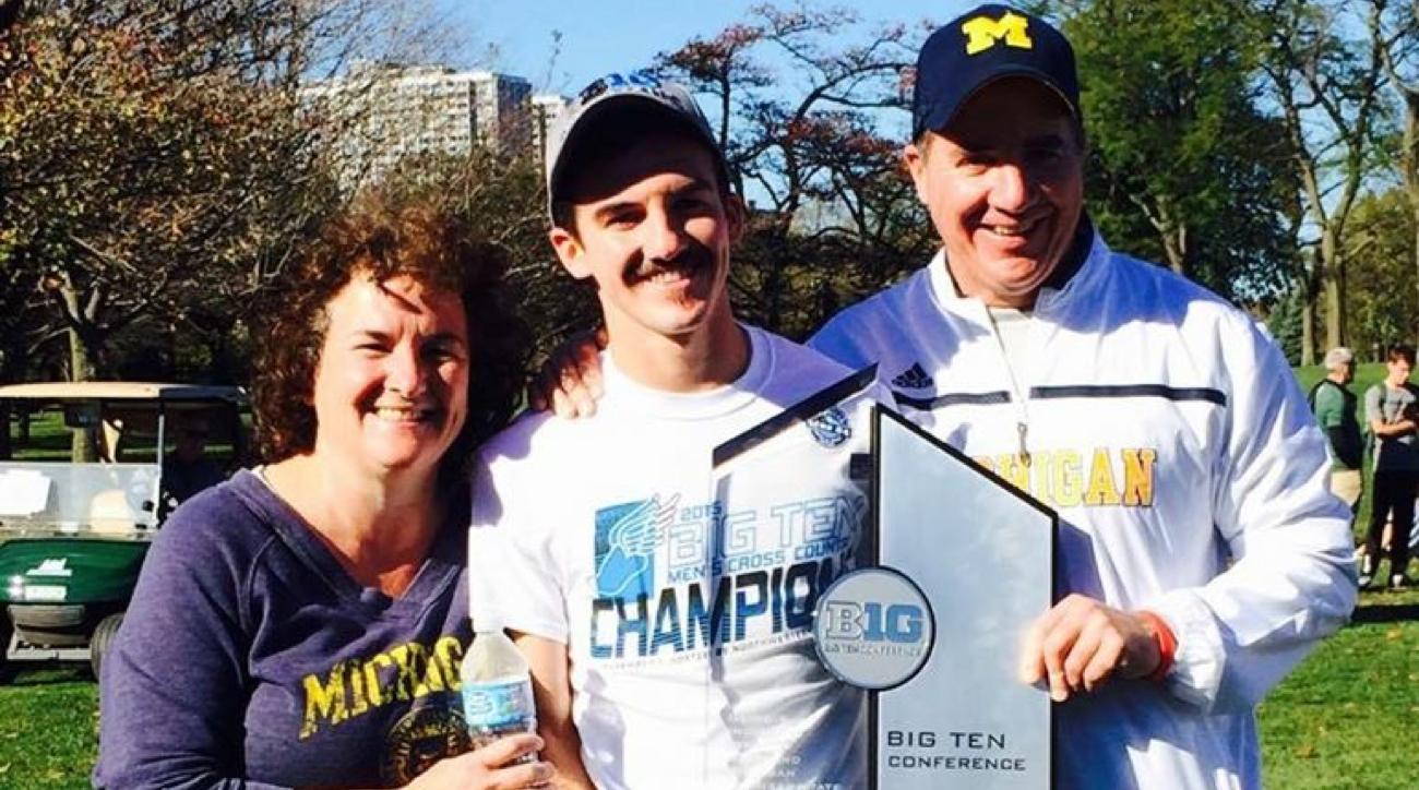 ben flanagan mom dad michigan big ten champions