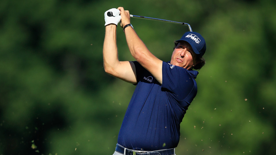 Phil Mickelson is seeking his 44th career win and second of the 2017-18 season