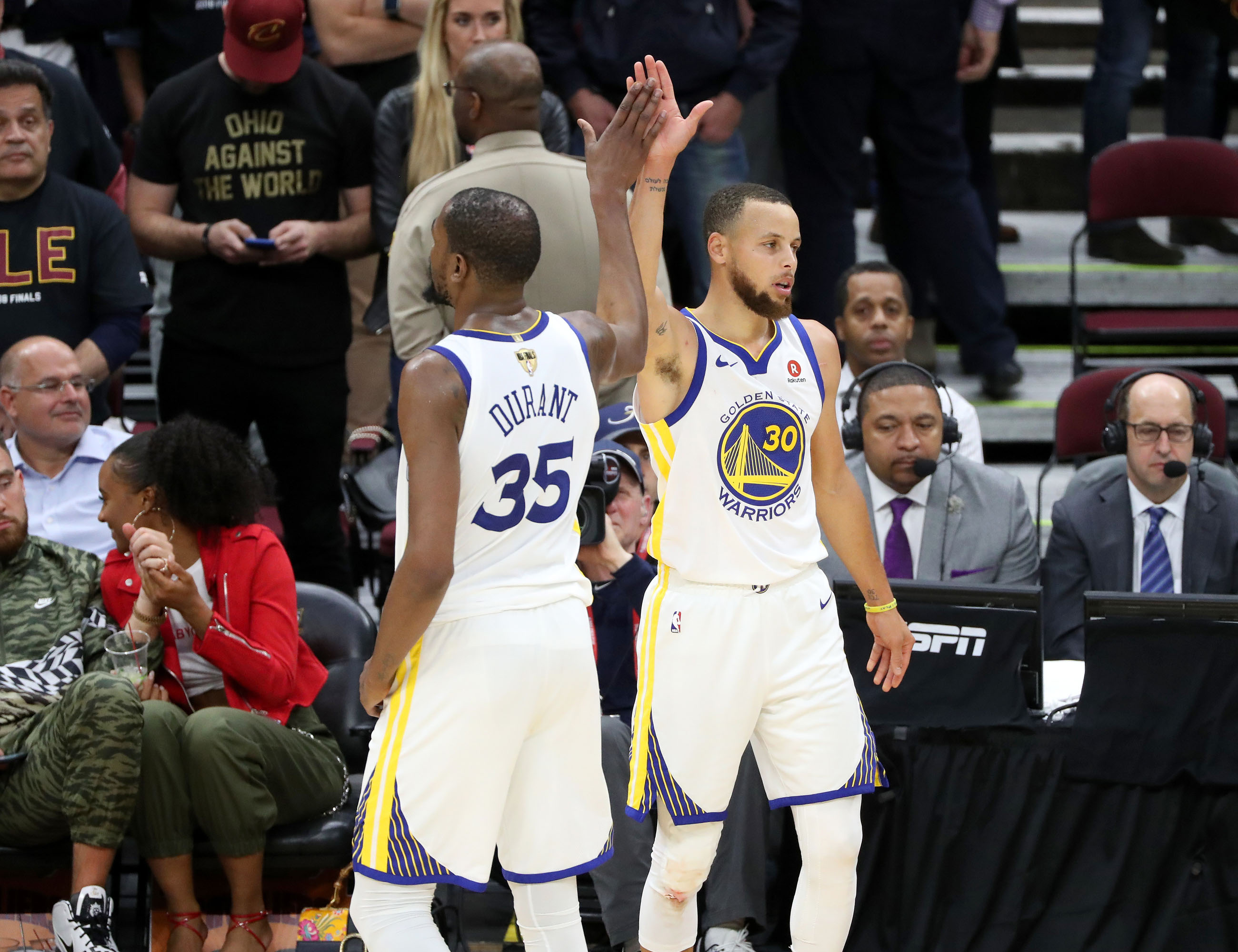 Why Stephen Curry could care less about not being Finals MVP