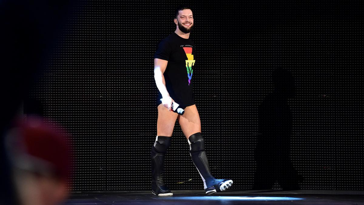 WWE shop: Finn Balor's LGBTQ pride shirt