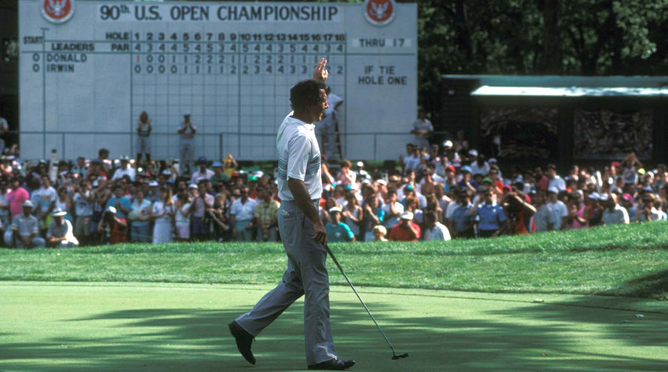 Hale Irwin is oldest golfer to win US Open