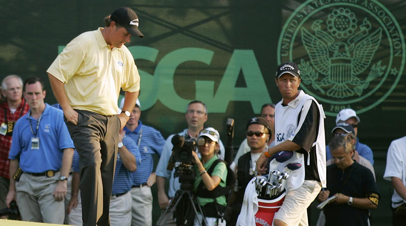 Phil Mickleson at 2006 U.S. Open at WInged Foot