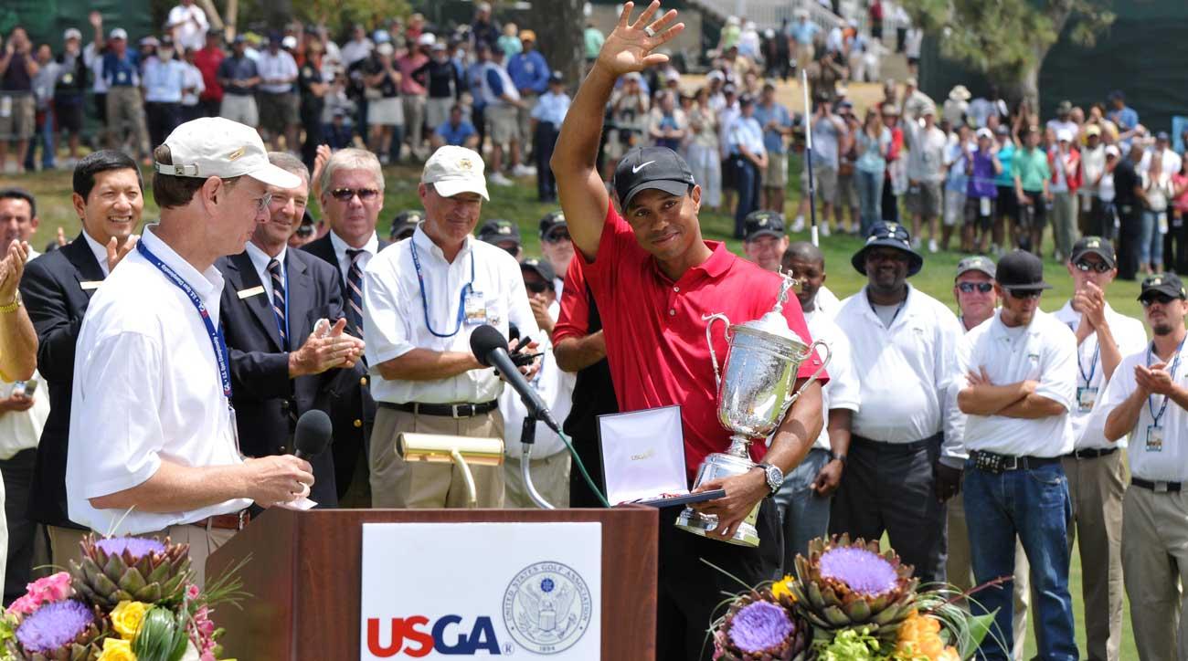 Tiger WOods last US Open win