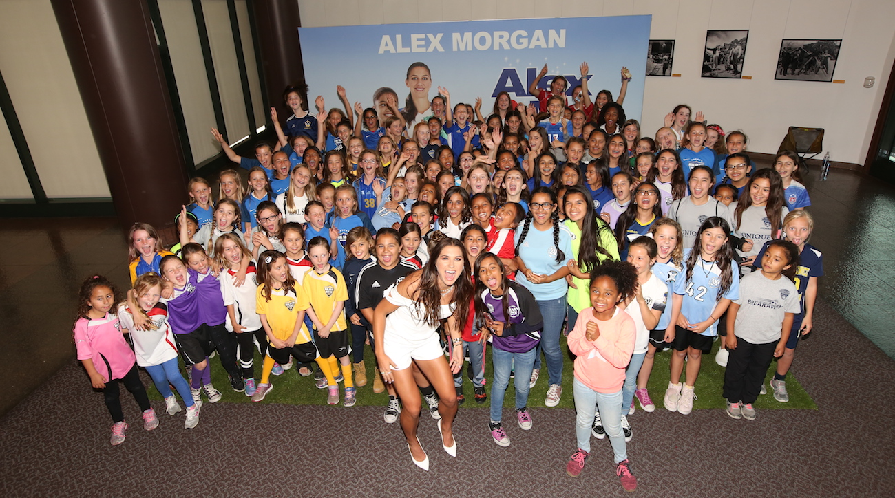6d33a1b4002 Alex Morgan Makes Her Movie Debut