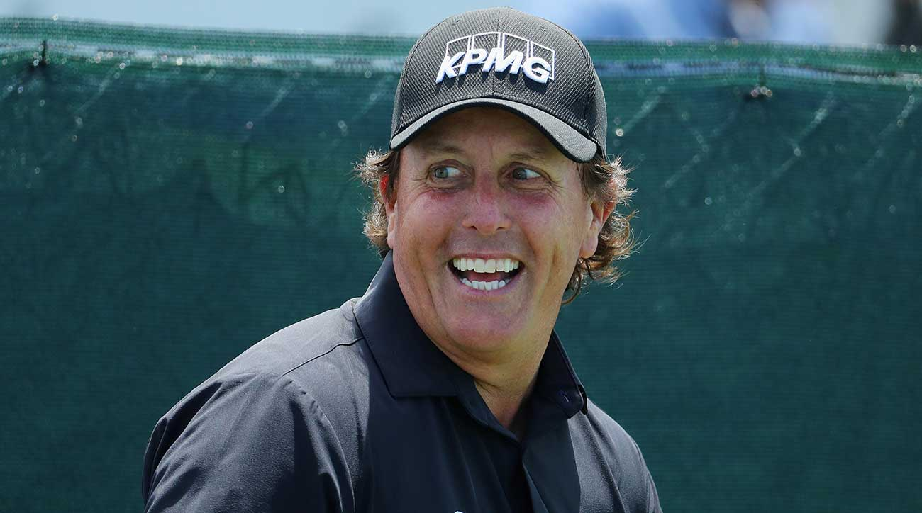 Mickelson has won five majors in his career, but has yet to win the U.S. Open.