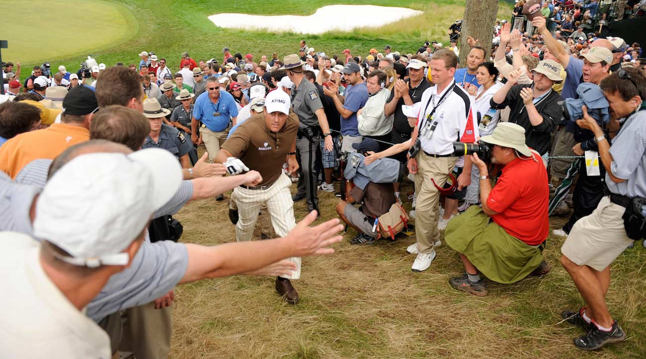 Phil Mickelson at US Open