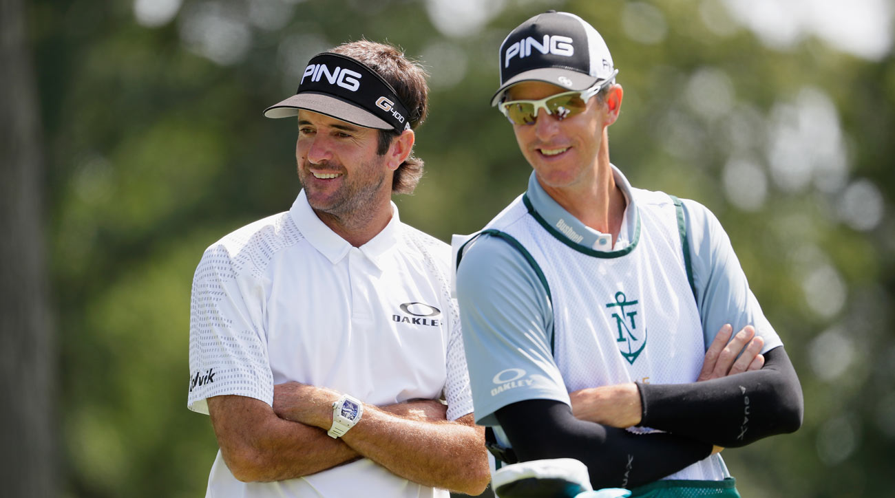 Caddie Ted Scott takes to Twitter at US Open