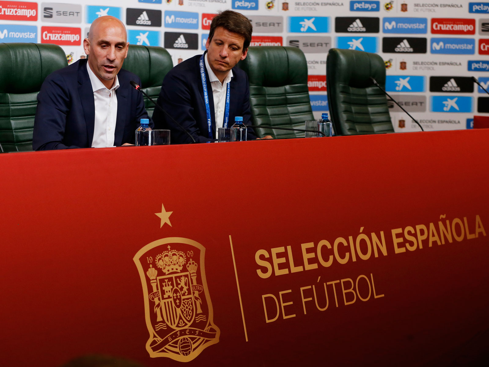 Spain's FA president fired manager Julen Lopetegui just before the World Cup