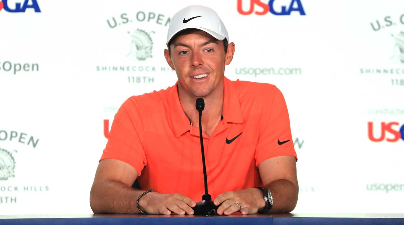 McIlroy was at ease during Wednesday's pre-tournament presser.