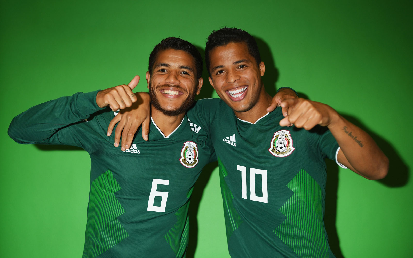 Jonathan Dos Santos and his brother Giovani help lead Mexico at the 2018 World Cup