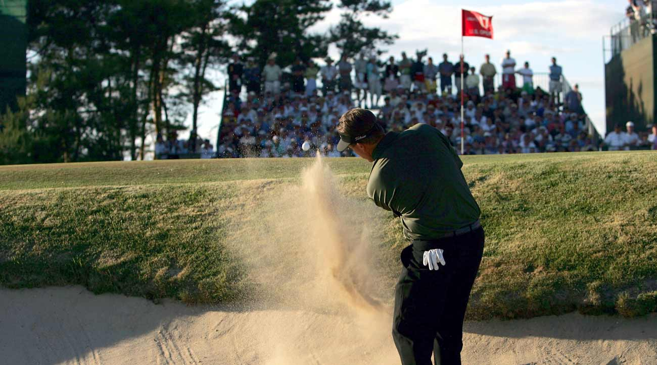 Phil Mickelson final round of US Open 2004