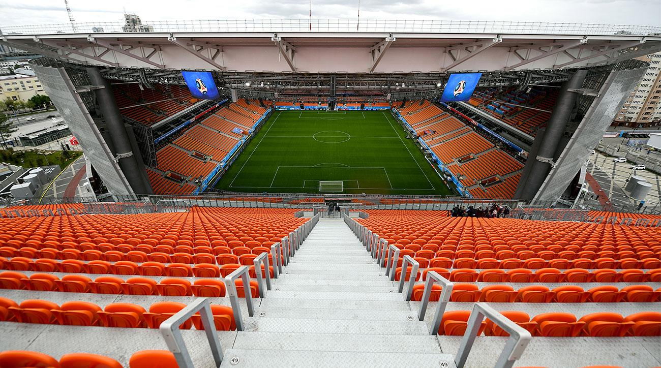 Tsentralnyi Stadium  yekaterinburg arena russia world cup staduium