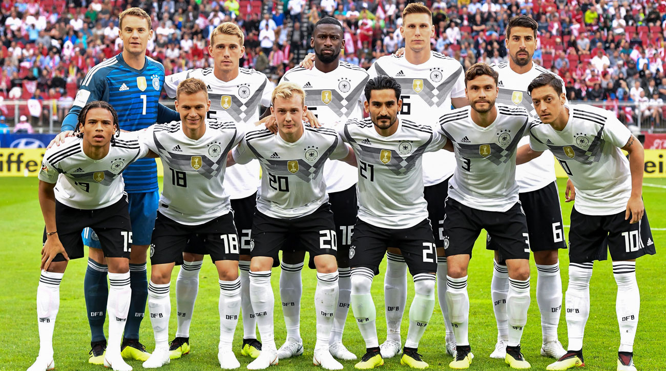Germany is one of the World Cup favorites in Russia