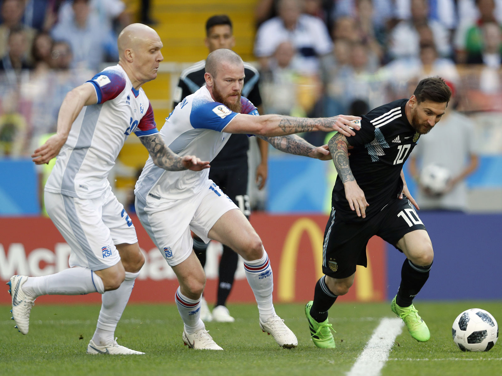 Lionel Messi was held scoreless by Iceland at the World Cup