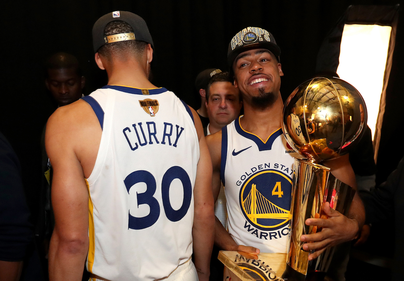 brand new 9c80e 51387 Quinn Cook Has Overcome Adversity to Become an NBA Champ ...